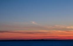 Sunset at Headlands Dark Sky park