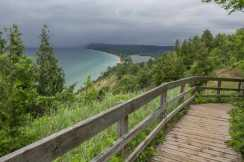 Empire Bluffs and stormy weather