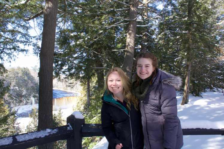 Estee and I: Tahquamenon Falls