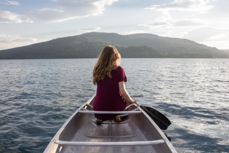Canoeing, Montana