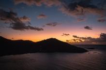 Sunrise in Fish Bay, USVI